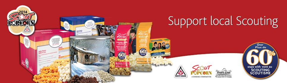 Scouts Popcorn 2014